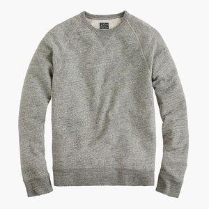 NWT J. Crew Authentic Vintage Fleece Sweatshirt XS
